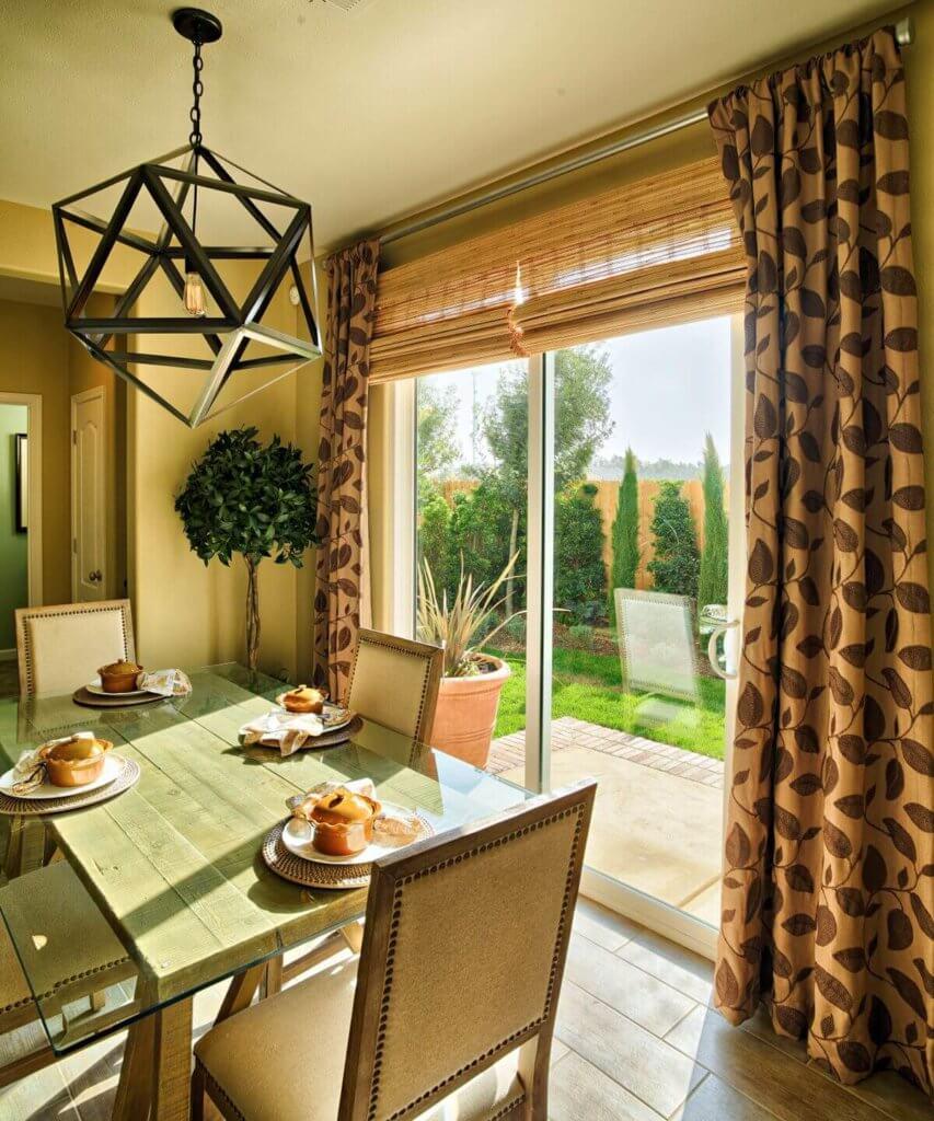 dining room exterior doors