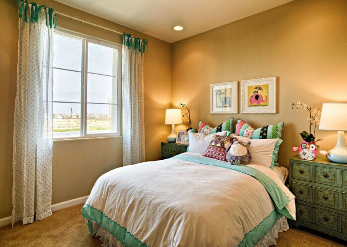 bedroom with a window