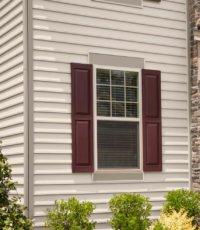 outdoor view of home window