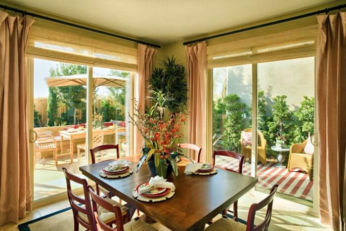 dining room sliding doors