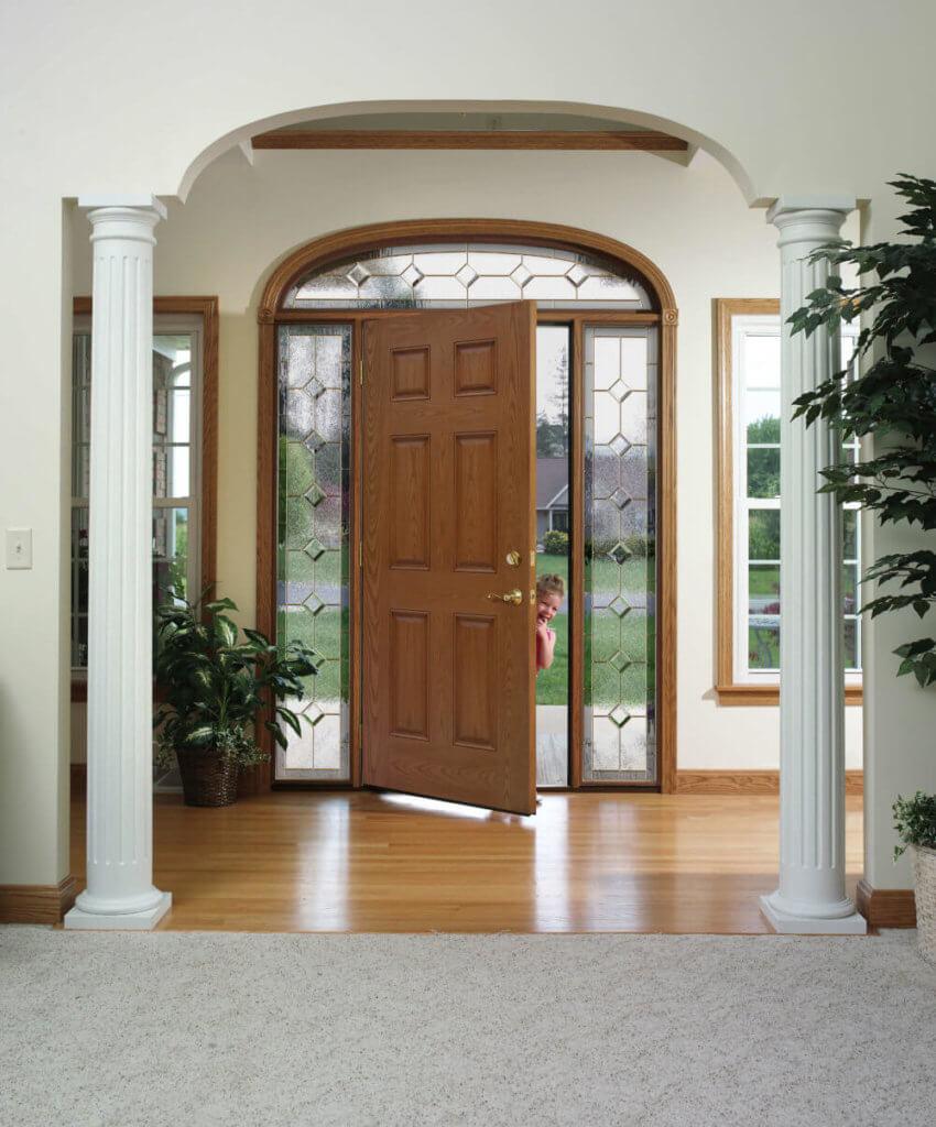 heritage fibeglass door