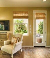 lounging area window installation
