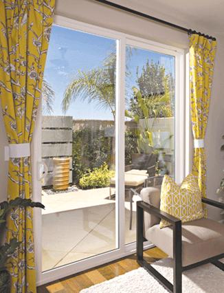 sliding patio glass doors