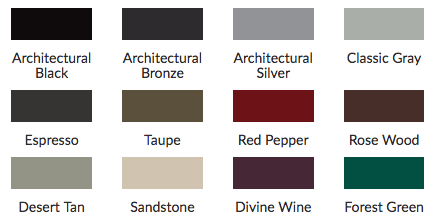 new color palette options